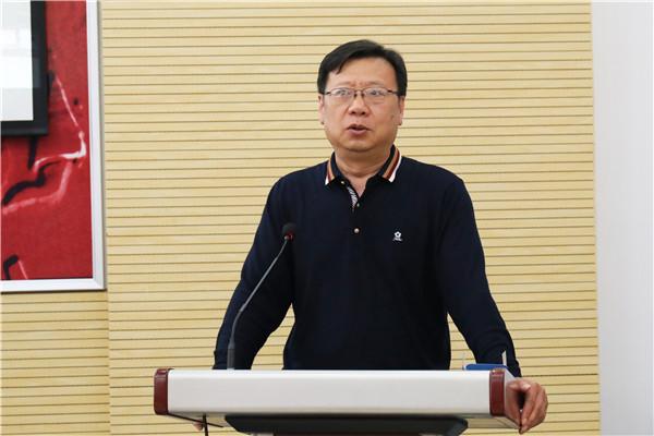 正校级干部刘明臣发表寄语.JPG